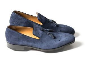 Picture of The Jim Shoe: Size 14/15  (Blue Suede)
