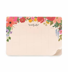 Picture of Garden Party Weekly Desk Pad