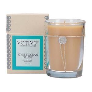 Picture of Candle - White Ocean Sands Candle from Votivo