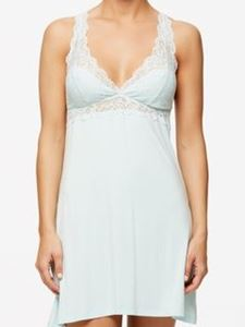 Picture of Fleur't T-Back Chemise - Water Blue