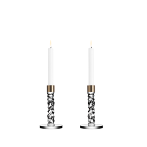 Picture of Orrefors Carat Candleholders - Small Gold