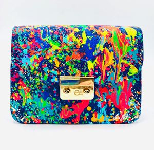 Picture of Vegan Leather Small Crossbody Bag