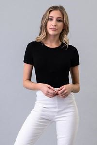 Picture of b+g Ribbed Short Sleeve Bodysuit