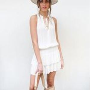 Picture of b+g SLVLS Pleated Mini Dress