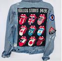 Picture of Rolling Stones Denim Jacket with Patches