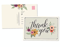 Picture of thank you Postcard Pack