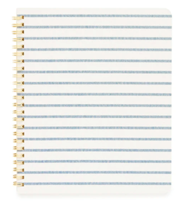 Picture of Blue Breton Stripe Notebook