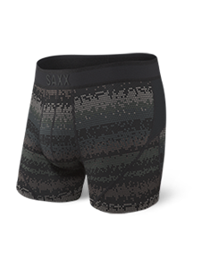Picture of Saxx Kinetic Boxer Brief Black Frequency