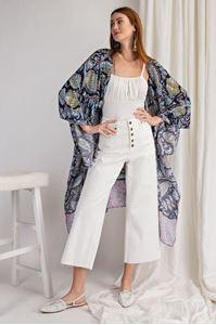Picture of Blue & Gold Kimono