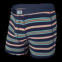 Picture of Saxx Ultra Boxer Briefs - Navy Vista Stripe