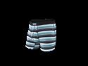 Picture of Saxx Vibe Boxer Brief - Grey Pop Stripe