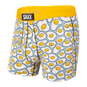 Picture of Saxx Vibe Boxer Brief - Yellow TGI-Fried Egg