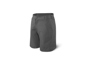 Picture of Saxx New Frontier 2N1 Shorts-Black Heather
