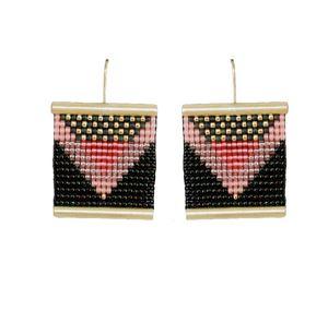 Picture of j: beaded earrings