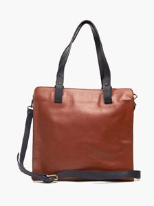 Picture of Axum Tote: Whiskey/Bone