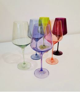 Picture of Estelle Colored Glass - Mixed Set