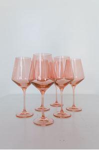 Picture of Estelle Colored Glass - Blush Set