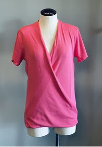 Picture of Hot Pink V-Neck Tee
