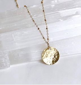Picture of j: Moon Necklace