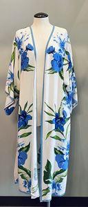 Picture of Blue/Ivory Kimono